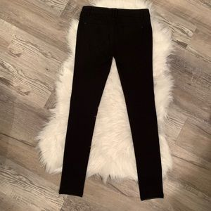 Boom Boom Jeans Pants - Boom Boom Jeans Leather Jeggings